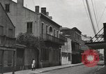 Image of old buildings New Orleans Louisiana USA, 1923, second 12 stock footage video 65675067369
