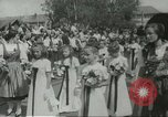 Image of royal wedding Lichtenstein, 1967, second 9 stock footage video 65675067383