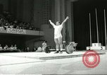 Image of weight lifting competition Winnipeg Canada, 1967, second 6 stock footage video 65675067384