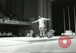 Image of weight lifting competition Winnipeg Canada, 1967, second 7 stock footage video 65675067384