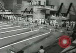 Image of swimming competition Winnipeg Canada, 1967, second 1 stock footage video 65675067385