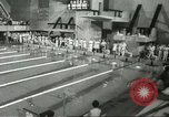 Image of swimming competition Winnipeg Canada, 1967, second 2 stock footage video 65675067385