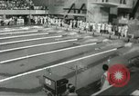 Image of swimming competition Winnipeg Canada, 1967, second 4 stock footage video 65675067385