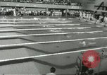 Image of swimming competition Winnipeg Canada, 1967, second 8 stock footage video 65675067385