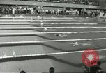 Image of swimming competition Winnipeg Canada, 1967, second 10 stock footage video 65675067385