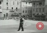 Image of flag games Italy, 1967, second 9 stock footage video 65675067392