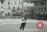 Image of flag games Italy, 1967, second 11 stock footage video 65675067392