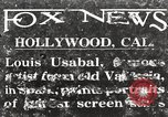Image of Louis Usabal Hollywood Los Angeles California USA, 1925, second 1 stock footage video 65675067404