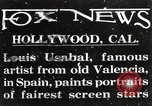 Image of Louis Usabal Hollywood Los Angeles California USA, 1925, second 2 stock footage video 65675067404