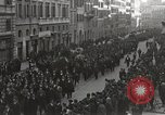 Image of funeral procession Rome Italy, 1925, second 2 stock footage video 65675067411