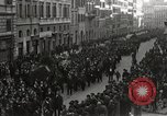 Image of funeral procession Rome Italy, 1925, second 9 stock footage video 65675067411