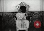 Image of Sultan of Morocco, Mohammad V, in his palace Morocco North Africa, 1942, second 2 stock footage video 65675067425