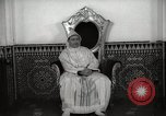 Image of Sultan of Morocco, Mohammad V, in his palace Morocco North Africa, 1942, second 3 stock footage video 65675067425