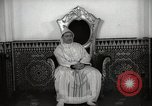 Image of Sultan of Morocco, Mohammad V, in his palace Morocco North Africa, 1942, second 4 stock footage video 65675067425