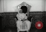 Image of Sultan of Morocco, Mohammad V, in his palace Morocco North Africa, 1942, second 7 stock footage video 65675067425