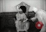 Image of Sultan of Morocco, Mohammad V, in his palace Morocco North Africa, 1942, second 9 stock footage video 65675067425
