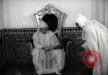 Image of Sultan of Morocco, Mohammad V, in his palace Morocco North Africa, 1942, second 10 stock footage video 65675067425