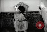 Image of Sultan of Morocco, Mohammad V, in his palace Morocco North Africa, 1942, second 11 stock footage video 65675067425