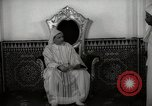 Image of Sultan of Morocco, Mohammad V, in his palace Morocco North Africa, 1942, second 12 stock footage video 65675067425