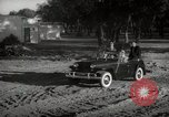Image of Sultan Mohammed V drives family members in open car Morocco North Africa, 1942, second 1 stock footage video 65675067427