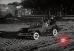 Image of Sultan Mohammed V drives family members in open car Morocco North Africa, 1942, second 2 stock footage video 65675067427