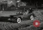 Image of Sultan Mohammed V drives family members in open car Morocco North Africa, 1942, second 3 stock footage video 65675067427