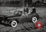 Image of Sultan Mohammed V drives family members in open car Morocco North Africa, 1942, second 5 stock footage video 65675067427