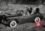Image of Sultan Mohammed V drives family members in open car Morocco North Africa, 1942, second 6 stock footage video 65675067427