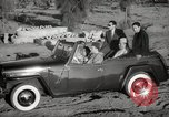 Image of Sultan Mohammed V drives family members in open car Morocco North Africa, 1942, second 8 stock footage video 65675067427