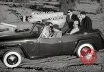 Image of Sultan Mohammed V drives family members in open car Morocco North Africa, 1942, second 9 stock footage video 65675067427