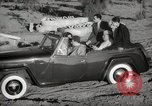 Image of Sultan Mohammed V drives family members in open car Morocco North Africa, 1942, second 10 stock footage video 65675067427