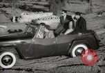 Image of Sultan Mohammed V drives family members in open car Morocco North Africa, 1942, second 11 stock footage video 65675067427