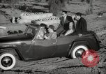 Image of Sultan Mohammed V drives family members in open car Morocco North Africa, 1942, second 12 stock footage video 65675067427