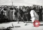 Image of Outdoor performers entertain spectators in Marrakech Morocco North Africa, 1942, second 2 stock footage video 65675067432
