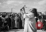 Image of Outdoor performers entertain spectators in Marrakech Morocco North Africa, 1942, second 11 stock footage video 65675067432