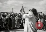 Image of Outdoor performers entertain spectators in Marrakech Morocco North Africa, 1942, second 12 stock footage video 65675067432