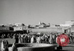 Image of Camels offered for sale at outdoor market in Marrakech Morocco North Africa, 1942, second 8 stock footage video 65675067433