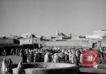 Image of Camels offered for sale at outdoor market in Marrakech Morocco North Africa, 1942, second 9 stock footage video 65675067433