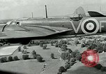 Image of Royal Air Force training United Kingdom, 1940, second 6 stock footage video 65675067441