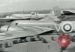 Image of Royal Air Force training United Kingdom, 1940, second 7 stock footage video 65675067441
