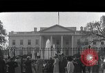 Image of White House Washington DC USA, 1950, second 1 stock footage video 65675067492