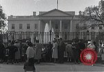 Image of White House Washington DC USA, 1950, second 2 stock footage video 65675067492