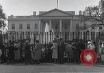 Image of White House Washington DC USA, 1950, second 3 stock footage video 65675067492