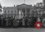 Image of White House Washington DC USA, 1950, second 4 stock footage video 65675067492