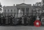 Image of White House Washington DC USA, 1950, second 5 stock footage video 65675067492