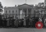 Image of White House Washington DC USA, 1950, second 7 stock footage video 65675067492