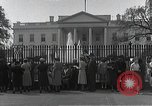 Image of White House Washington DC USA, 1950, second 8 stock footage video 65675067492