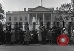 Image of White House Washington DC USA, 1950, second 9 stock footage video 65675067492