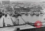 Image of activities at harbor United States USA, 1950, second 3 stock footage video 65675067495