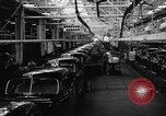 Image of automobile workers Detroit Michigan USA, 1950, second 1 stock footage video 65675067508